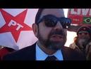 Eduardo Guimarães perseguido por Moro participa da Vigília LulaLivre