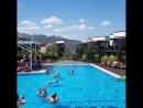 Pool party в отеле LEXX