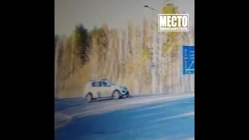 ДТП на дороге Киров - Пасегово