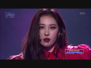 Sunmi + seulgi + daehwi - heroine @ 2018 kbs gayo daechukje 181228