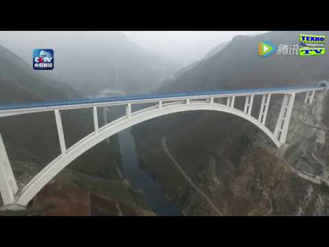How to build the highest railway bridge in the world