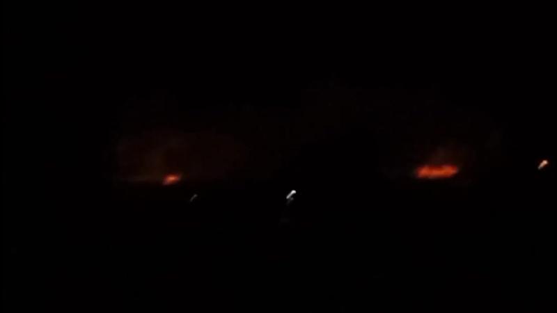 Детонирует крупнейший склад боеприпасов в Украине Detonates the largest ammuniti
