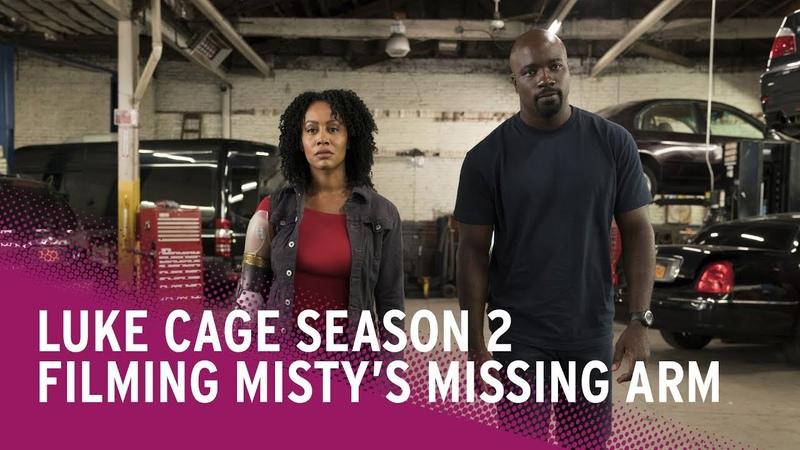 Filming Mistys Missing Arm in Luke Cage Season 2