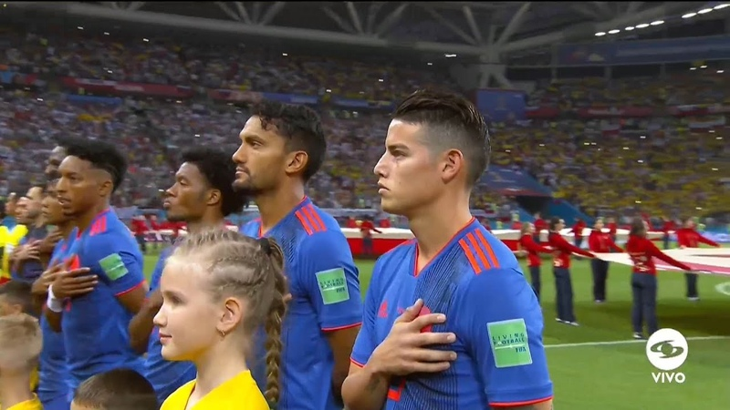 James Rodriguez vs Polonia ● Copa do Mundo da Russia (24/06/2018)
