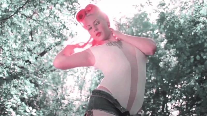 American Woman - Music Video Tattooed Retro Redhead....mp4