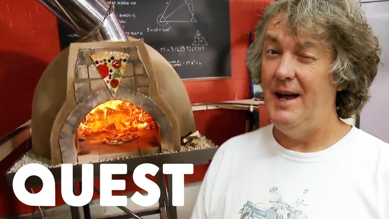 James And The Team Build A Wood Fired Pizza Oven From Scratch James May's Man Lab