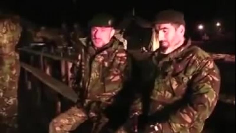 Батальон чеченцев прибыл на помощь украинской армии!