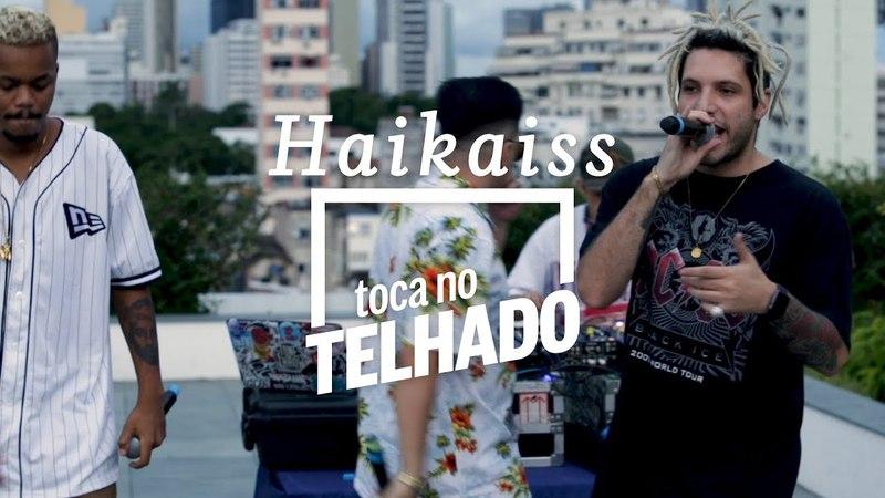 Haikaiss toca 'Rap lord' no telhado do Globo, no Rio de Janeiro