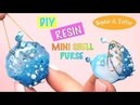 Mini shell purse- Sophie Toffee- DIY- Tutorial- Resin