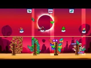 [Канал Глюка] Tricky Towers | Робот строитель | Упоротые игры