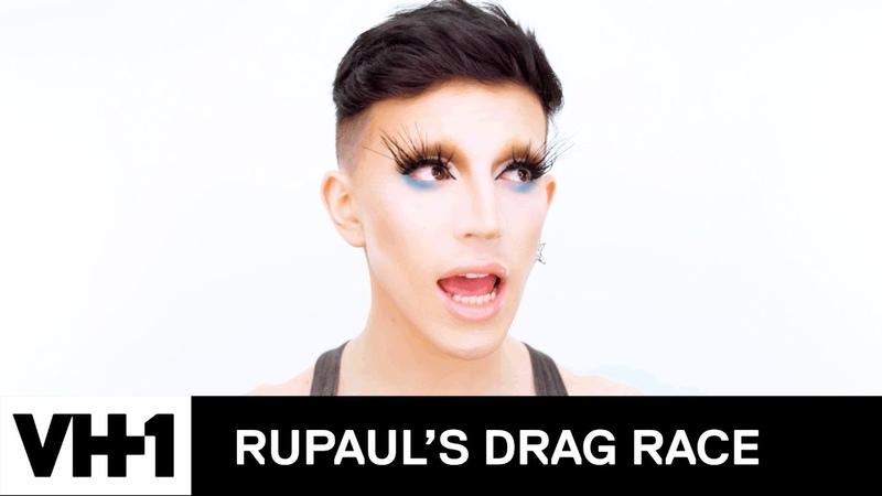 Aquaria's 'Oil-Spill Mermaid Lewk' Makeup Tutorial 💄 | RuPaul's Drag Race Season 10