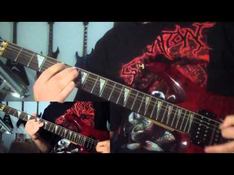 Bloodbath - Treasonous (guitar cover)