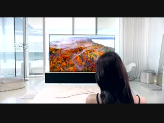 LG SIGNATURE OLED Rollable TV Lifestyle
