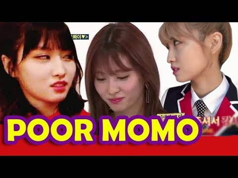 Best Moments of TWICEs Momo being teased ( funny cute )