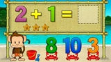 Fun Learning Games For Kids - Children Learn Numbers &amp Shapes With Monkey Math School Sunshine