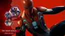 """Marvel Entertainment on Instagram """"The third pre-order suit for SpiderManPS4 was just revealed at the MarvelSDCC Games Panel! Pre-order today to..."""