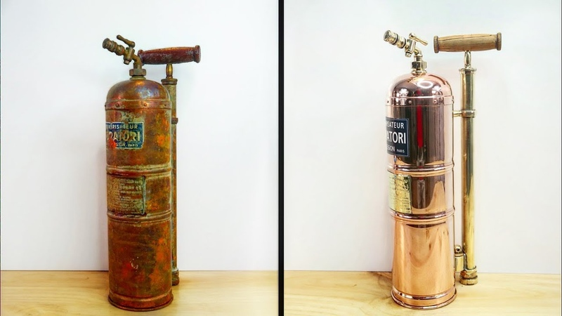 Fire fighters Extinguisher 🧯 Restoration