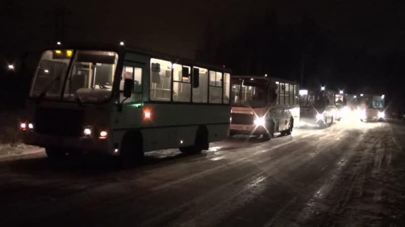 Двадцать маршрутных такси сняли с рейса в Петербурге
