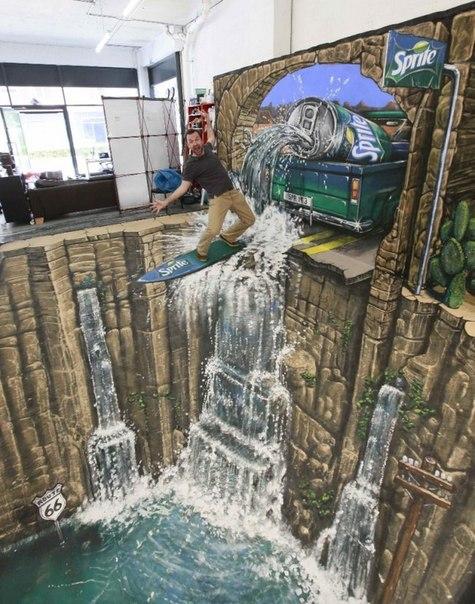 3D на грани фантастики Парни Джо Хилл и Макс Лоури, известные как 3D Joe и Max, прославились своими поистине впечатляющими рисунками.Они буквально объездили весь мир — от Нью-Йорка до Шанхая,