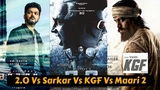 2.0 Vs Sarkar Vs KGF Vs Maari 2 Upcoming South Indian Movies Cast, Budget, Poster and Release Date
