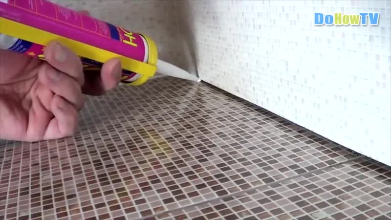Как правильно силиконить швы между плитками Идеальный ремонт