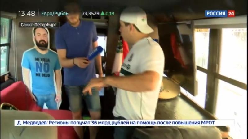Приключения картонного Хавьера в России продолжаются