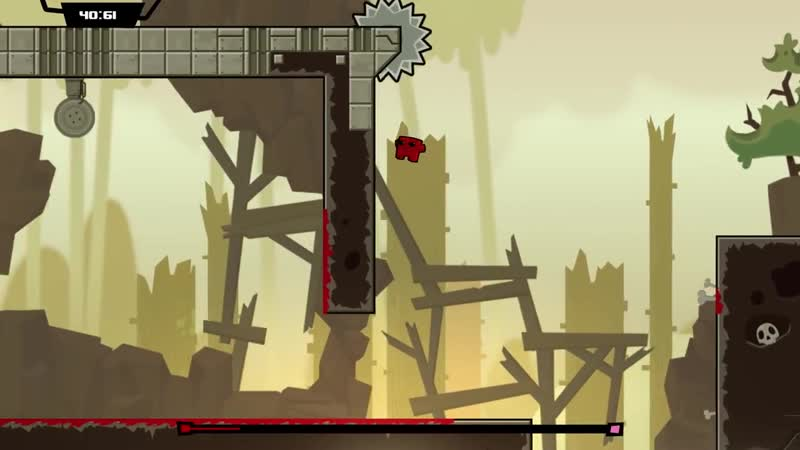 14 Minutes of Super Meat Boy Forever Gameplay Direct Feed PAX East 2018
