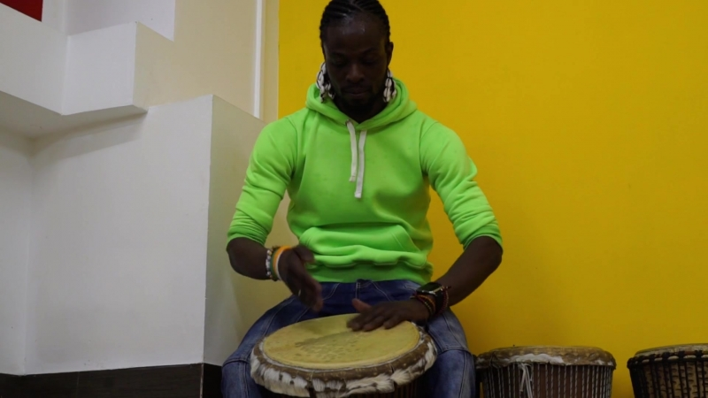 Thierry Deha. promo afro drums