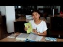 Жастар таңдайды - Молодежь предпочитает жобасына қатысушы Тынысбек Жаңагүл жастарды кітап оқуға шақырады