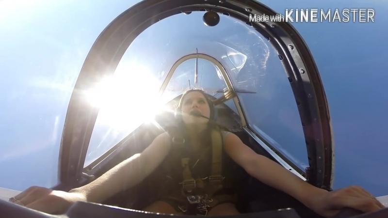 Як-52 ДЕВОЧКА и высший пилотаж