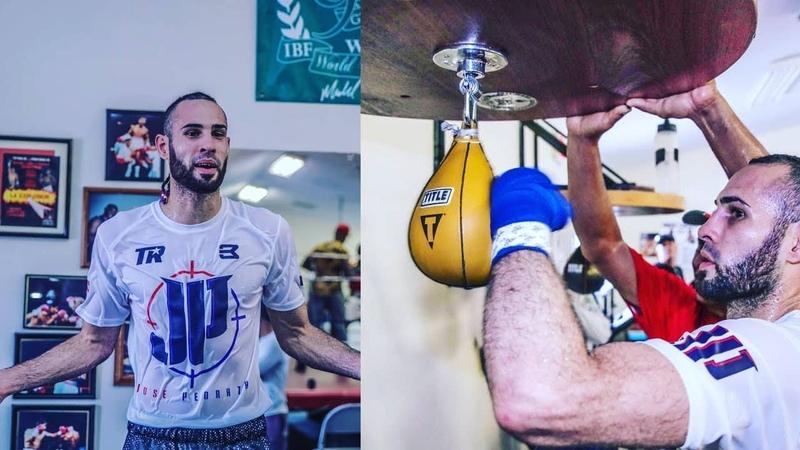 Jose Pedraza Boxing Training 2018