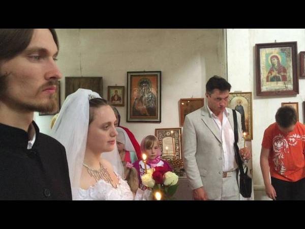 Свадьба в деревне - Венчание ч.1 (СДС)