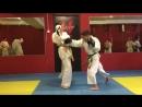 2.3 Защита от лоу-кик в заднюю ногу и контратака ударами рук и ног
