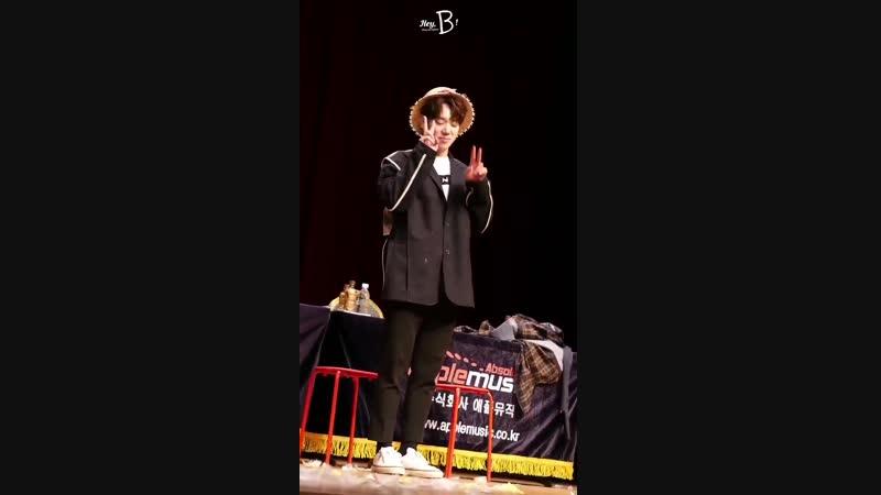 FANCAM | 29.12.18 | Byeongkwan (Phototime) @ 2nd Season's Greetings Fansign 2019