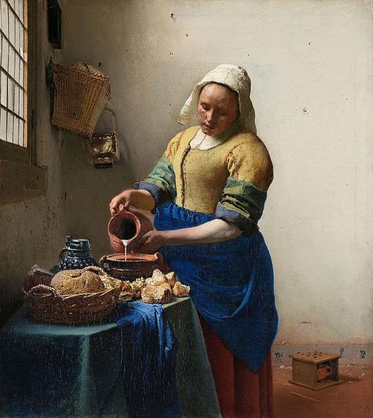 Ян Вермеер Дельфтский (Jan Vermeer van Delft) 1632 - 1675. Нидерландский художник-живописец, мастер бытовой живописи и жанрового портрета. Наряду с Рембрандтом и Франсом Халсом является одним из