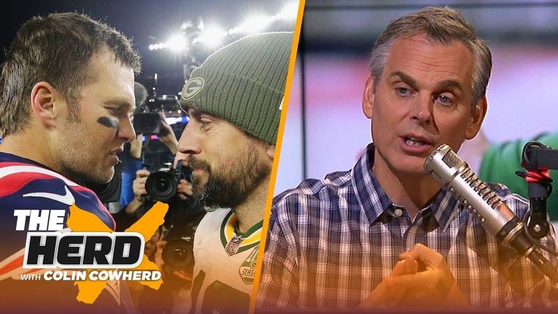 Colin Cowherd reacts to Tom Brady's win over Aaron Rodgers, Packers on SNF | NFL | THE HERD