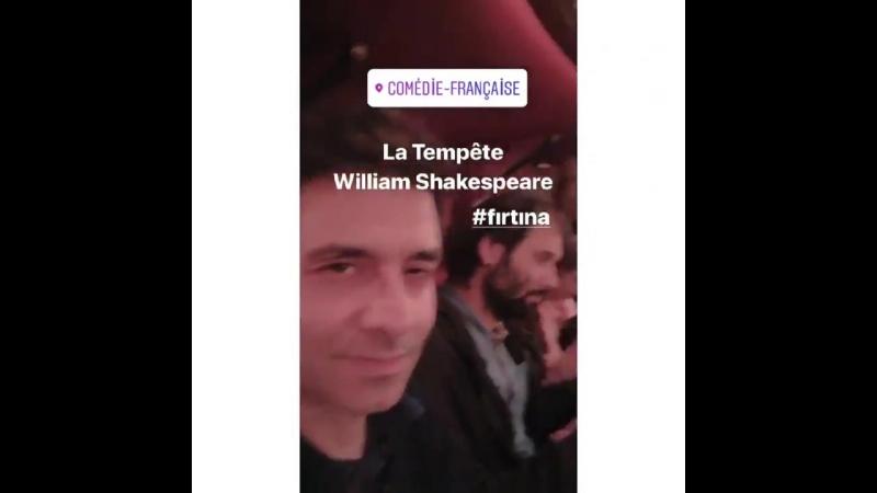 @cansellelcin repost @ztugceb La Tempête William Shakespeare fırtına tiyatro paris canselelçin latempete williamshakespear