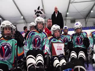 Проводы детской сборной по следж-хоккею на турнир в Канаду