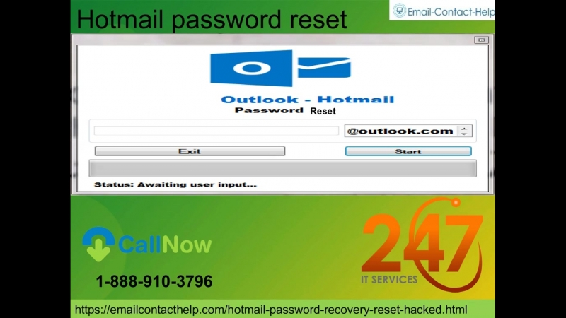 Hotmail Password Reset 1 888 910 3796 the least demanding approach to recoup your watchword…