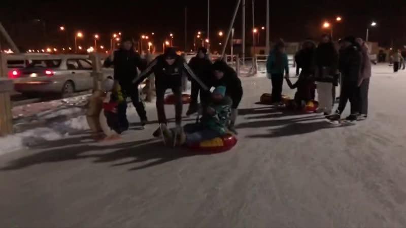 Открытие сезона на катке Звездный полюс