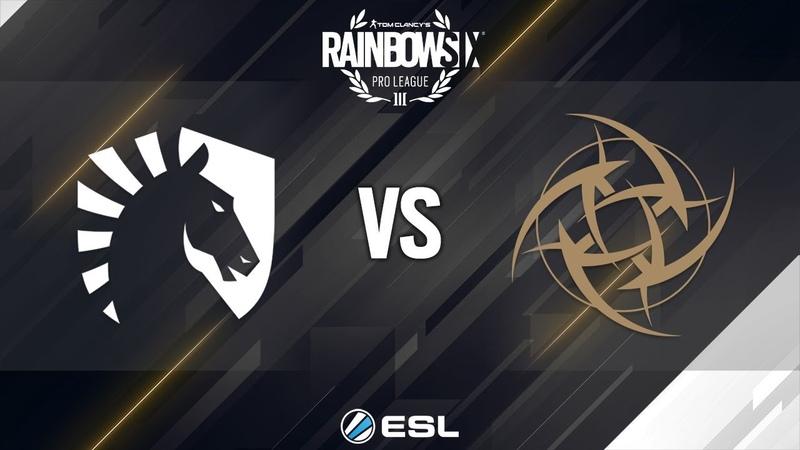 Rainbow Six Pro League - Season 8 - LATAM - Team Liquid vs. Ninjas in Pyjamas - Week 4