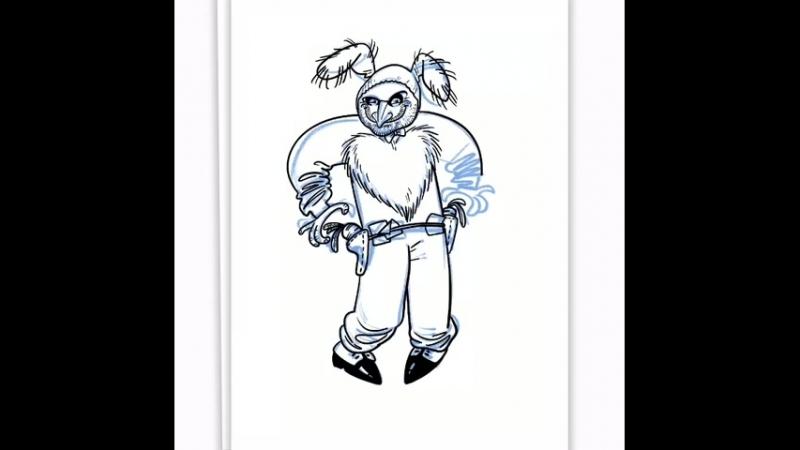 Кролик Рукосуев художник Евгений Баторсокий
