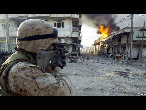 U.S. Marines in Deadly Firefight | Battle of Fallujah | Operation Phantom Fury 2004