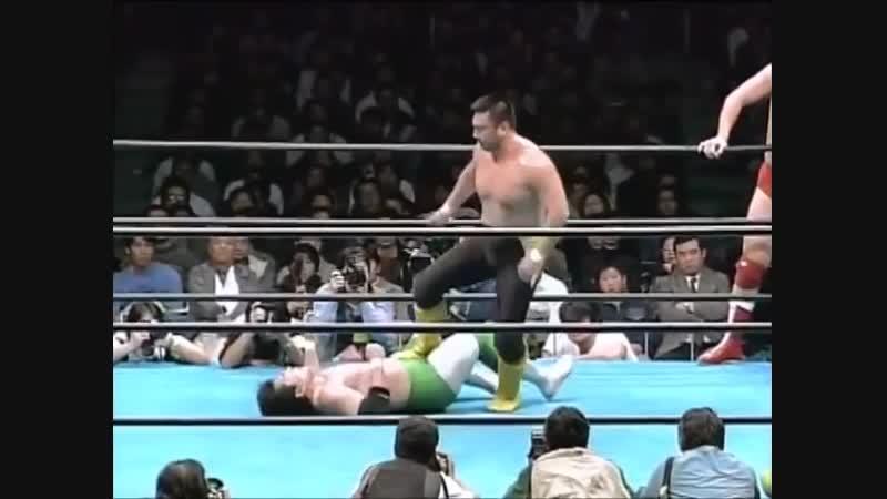 1995.12.09 - Mitsuharu Misawa/Kenta Kobashi vs. Toshiaki Kawada/Akira Taue
