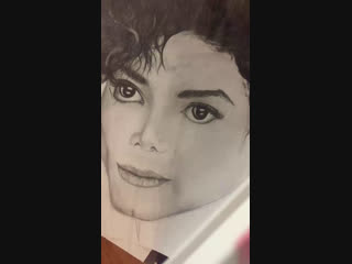 Портрет Майкла Джексона!