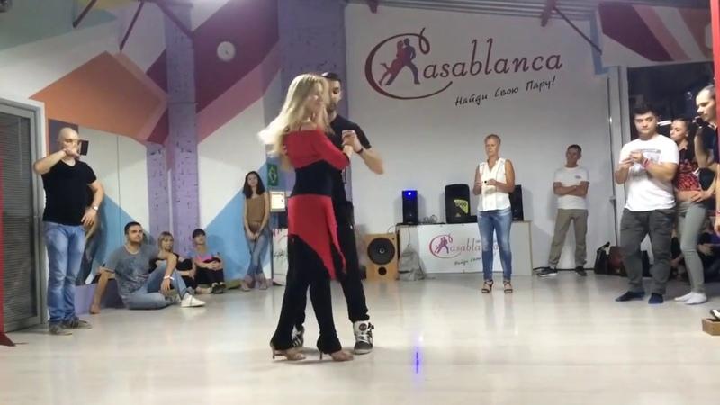 Кизомба с Анной Мельниковой, студия Essentia Dance