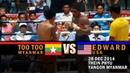 Too Too Myanmar vs Edward USA Lethwei Fight 2014 Lekkha Moun Burmese Boxing
