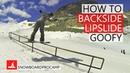 How to Backside Lipslide - Snowboarding Tricks Goofy