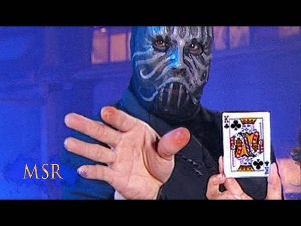 MAGICIAN BRANDS HIS OWN FLESH WITH A PLAYING CARD! [Тайны великих магов]