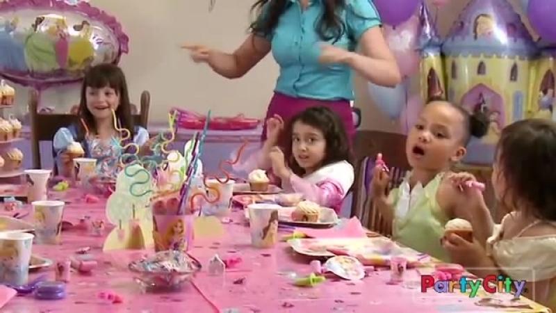 Веселая Затея - идеи для праздника. Enchanting Disney Princess Party Ideas